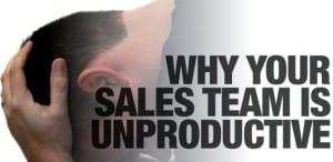sales force team unproductive